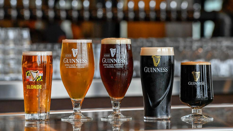 Guinness Brewery_beers on bar_113018.jpg
