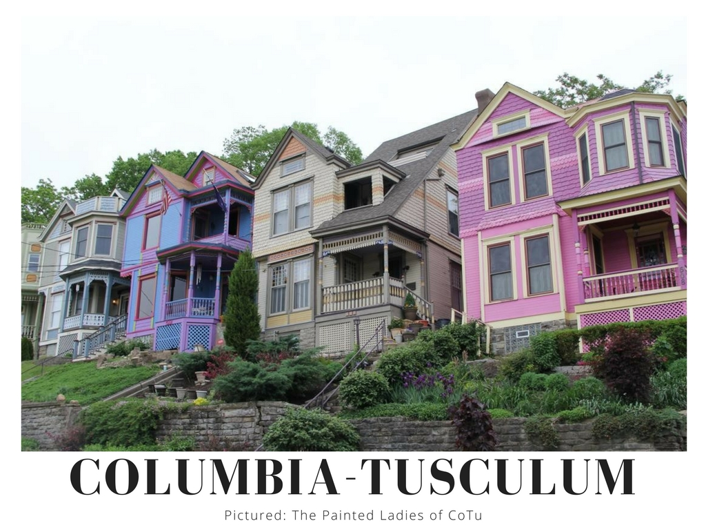 Columbia-Tusculum… you know it for being Cincinnati's oldest neighborhood. You did know that, right? It's also got some pretty adorable homes. San Francisco has Painted Ladies, well so do we. / Image: Clay Griffith // Published: 9.2.17