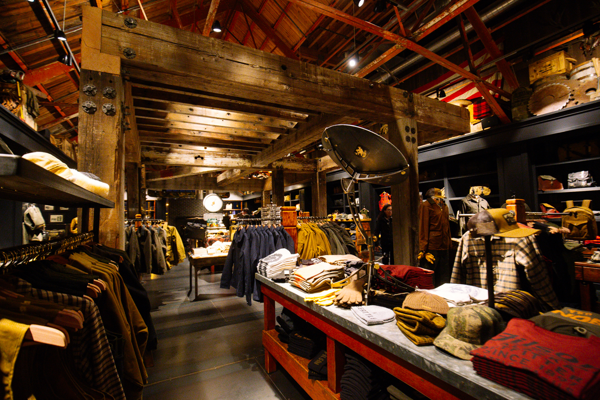 Filson Opens Their 6 000 Foot Flagship Store In Sodo