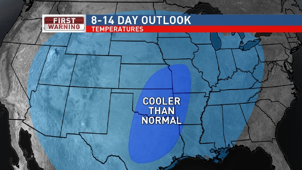Cooler than normal weather to continue