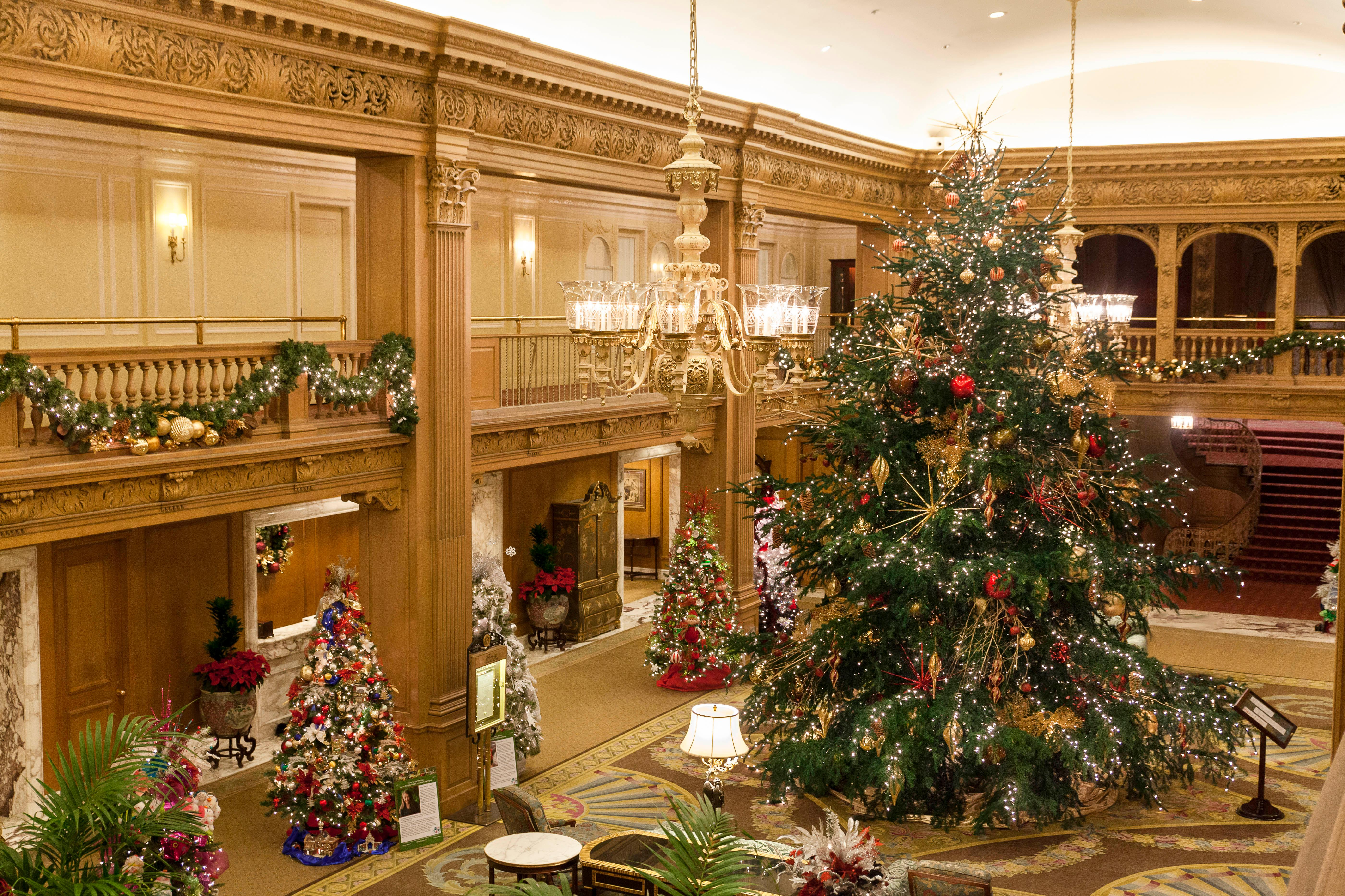 <p>Always a winner is a true holiday inspired staycation. Embrace the true spirit of the holidays with Trees of Hope at Fairmont Olympic Hotel . Lavishly decorated Christmas trees, sponsored by local businesses, will light up hotel lobbies with all event proceeds going to local charities. (Image: Fairmont)</p><p></p>