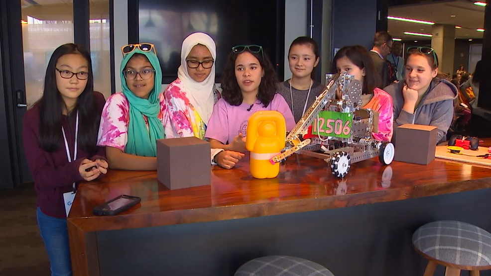 Google $50,000 grant to help double size of Girl Scouts robotics program in Western Wash.