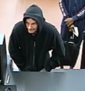 Walterboro WoodForest bank robbery suspect still on the run, reward offered. (Crime Stoppers)