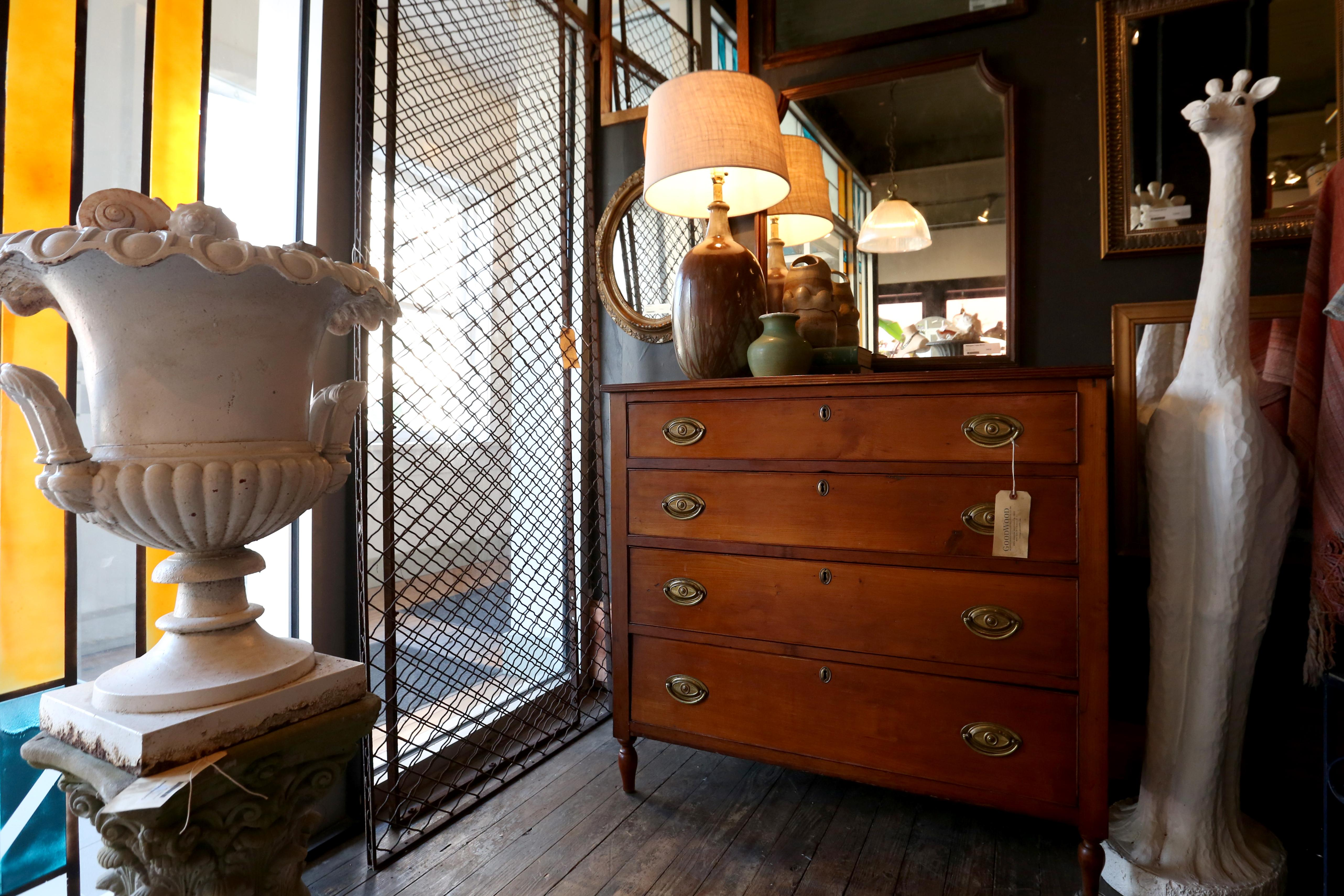 1800s chest of drawers - $745, available at GoodWood. (Amanda Andrade-Rhoades/DC Refined)