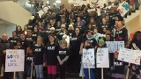 'Idaho's too great for hate': More than 100 march to Capitol for MLK peace rally
