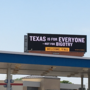 "Billboard responding to sign asking liberals to leave Texas says ""Texas is for everyone"""