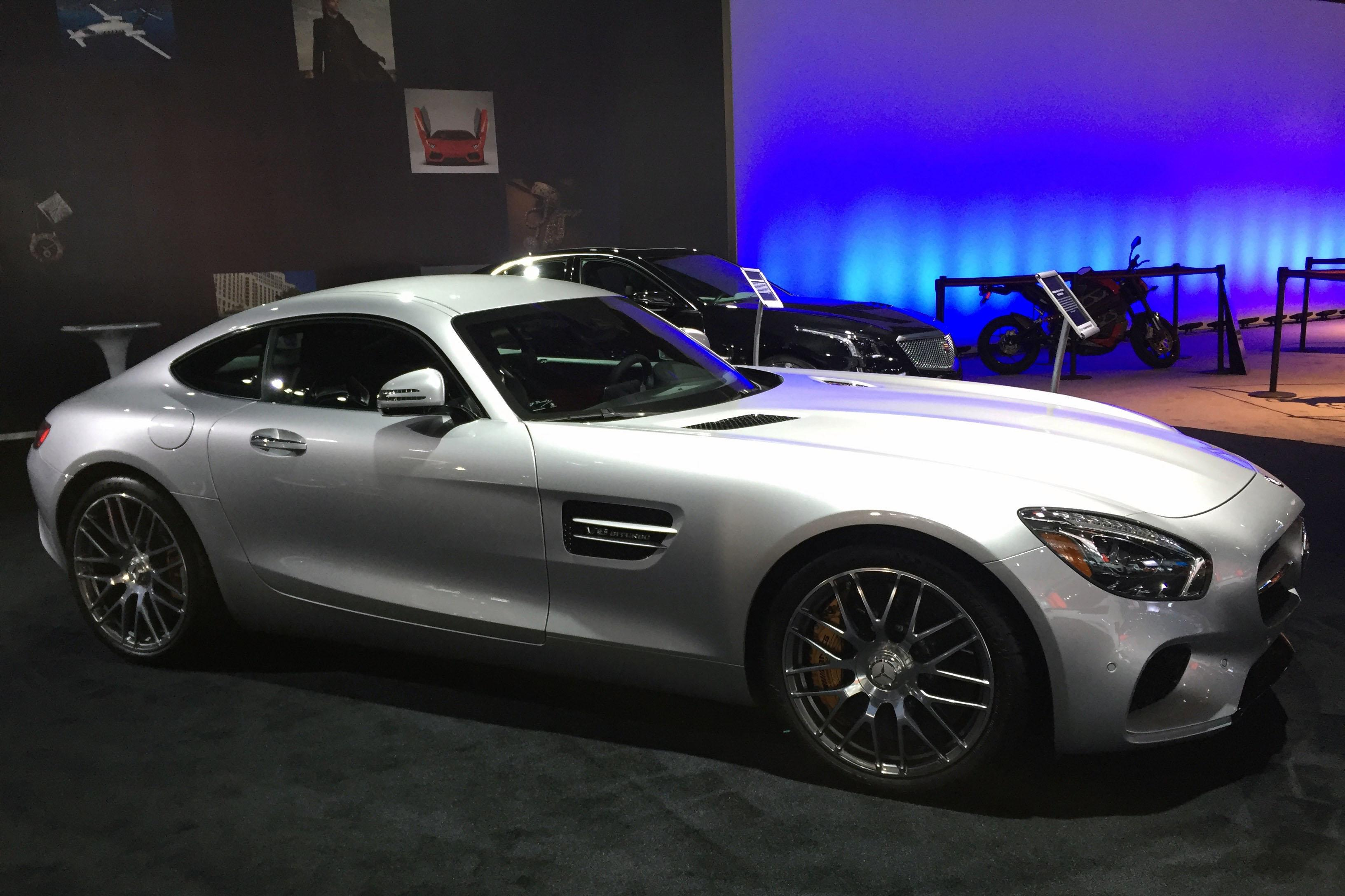 Mercedes AMG GT-S (Photo by Jill Ciminillo)