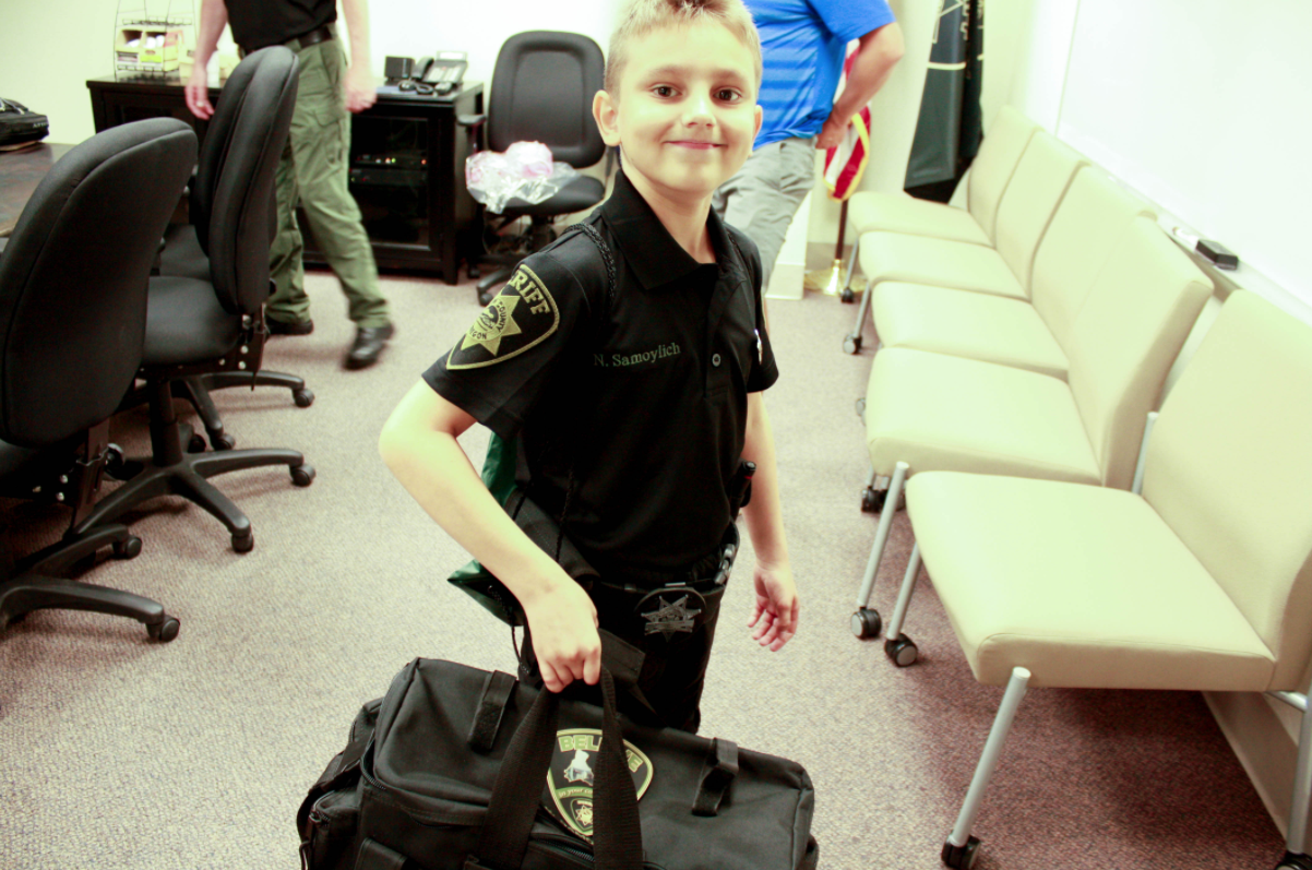Deputies make wish come true for 9-year-old boy (Photo: Marion County Sheriff's Office)
