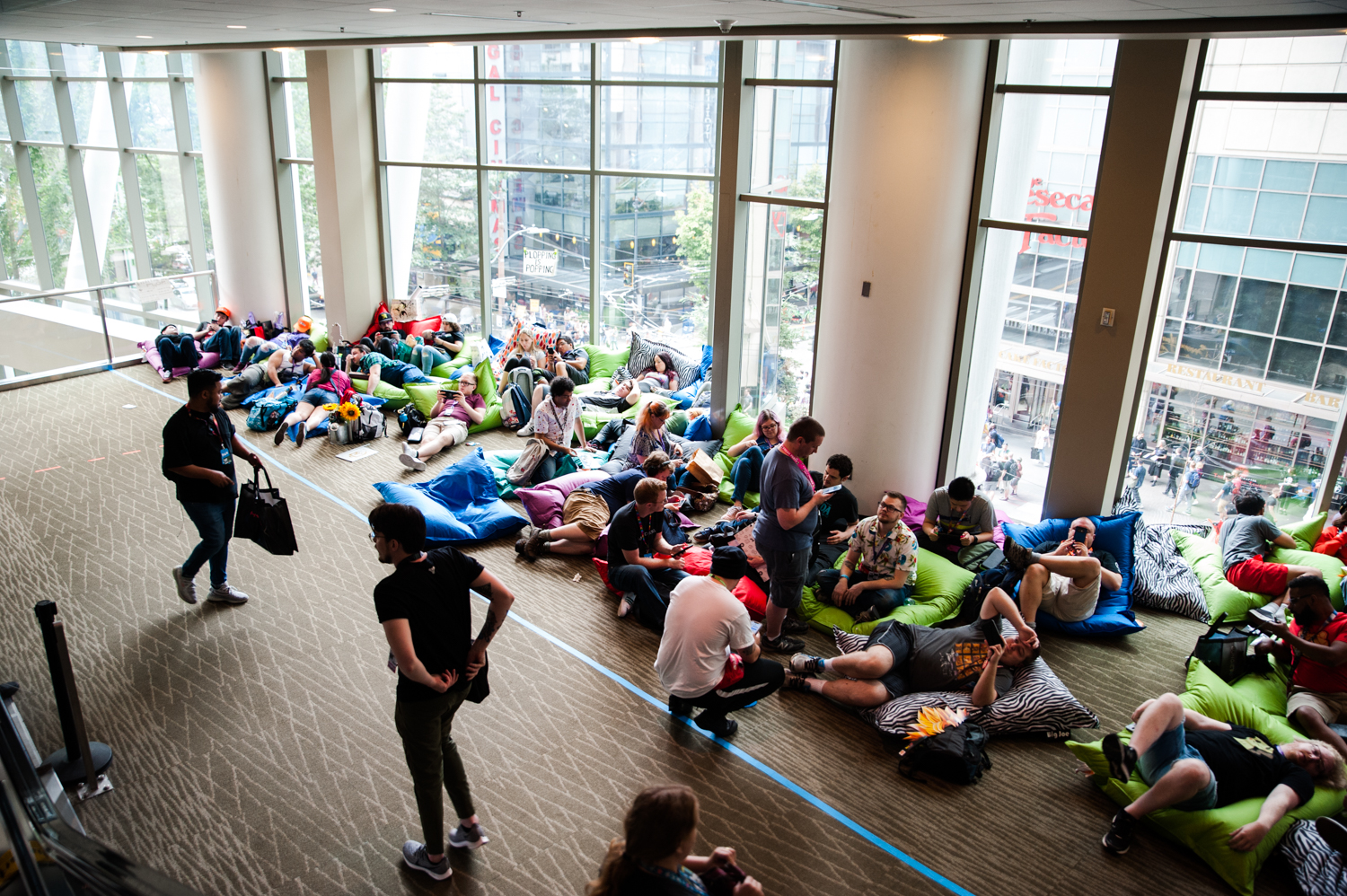Seattle's Penny Arcade Expo (PAX West) brings tens of thousands of people to the Washington State Convention Center every year! PAX West includes concerts, arcade games, video game tournaments, cosplay and more - and runs the entirety of Labor Day Weekend (Aug. 30 – Sept.2). (Image: ElizabethCrook / Seattle Refined)