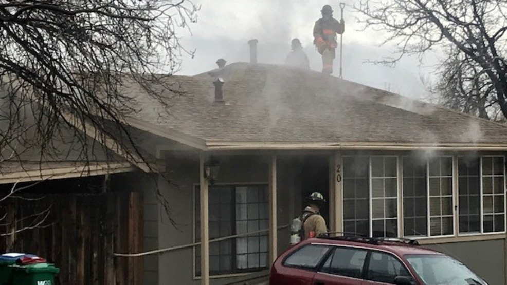 Single story home fire displaces Reno woman