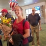 2 local Olympians return to home to cheers