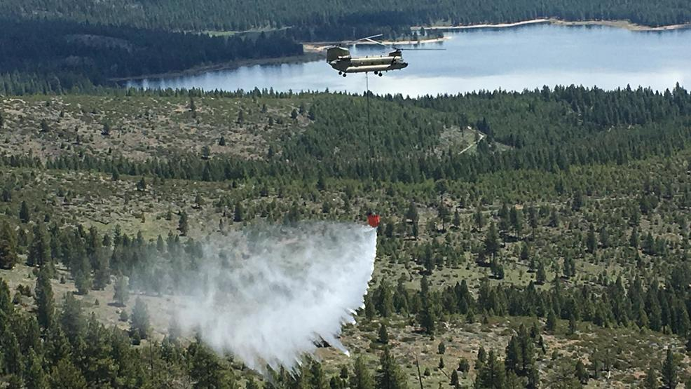 NV Army Guard to provide firefighting help | KRNV