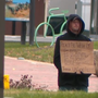 What do Baltimore's laws say about panhandling?