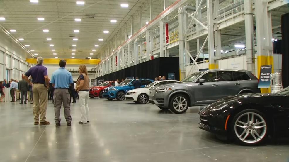 New Gf Linamar Facility Opens In Henderson County Wlos