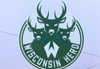 The logo of the Wisconsin Herd basketball team is displayed at the construction site for its arena in Oshkosh June 27, 2017.
