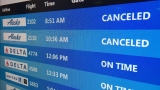 Ice storm cancels local flights