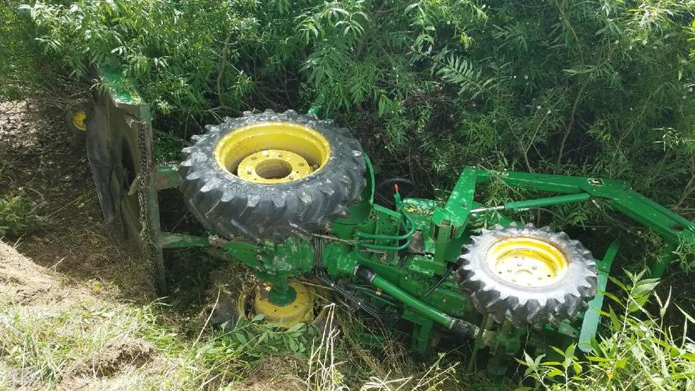Farm Machinery Belts : Nemo man escapes tractor rollover without a scratch ktvo