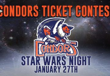 Condors' Star Wars Night Ticket Contest