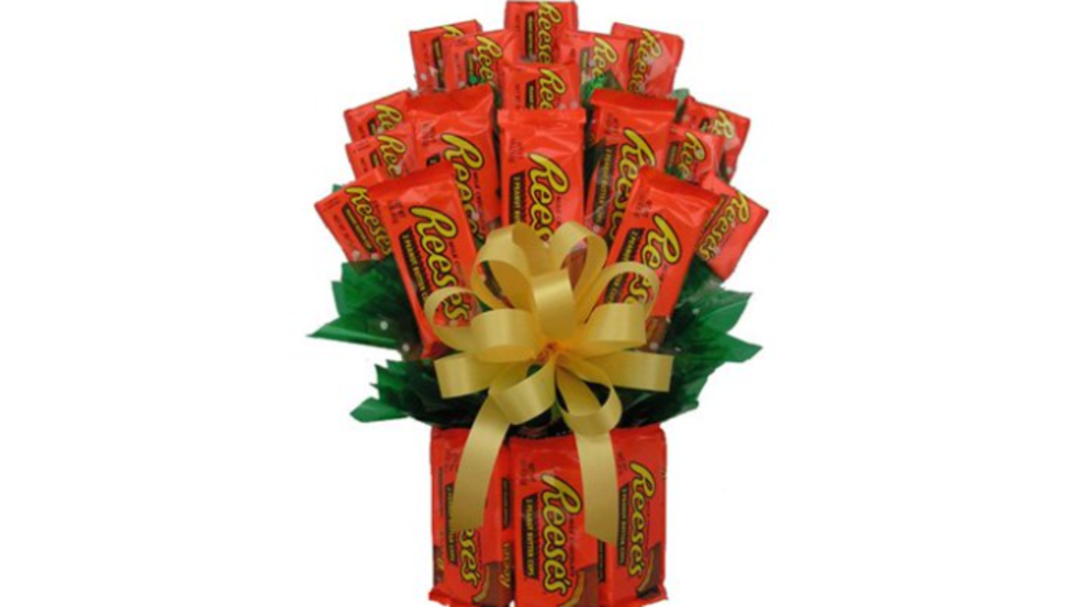 Walmart Selling Candy Bouquet For Valentines Day Wset