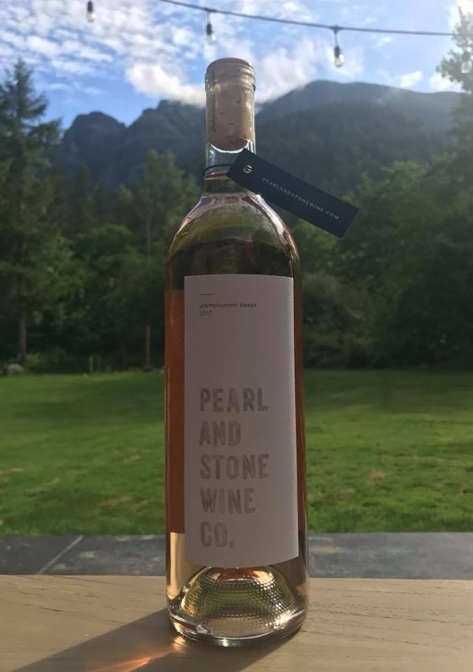 Bottle of wine from{ }Pearl and Stone Wine Company. (Image:{ }Pearl and Stone Wine Company Facebook)