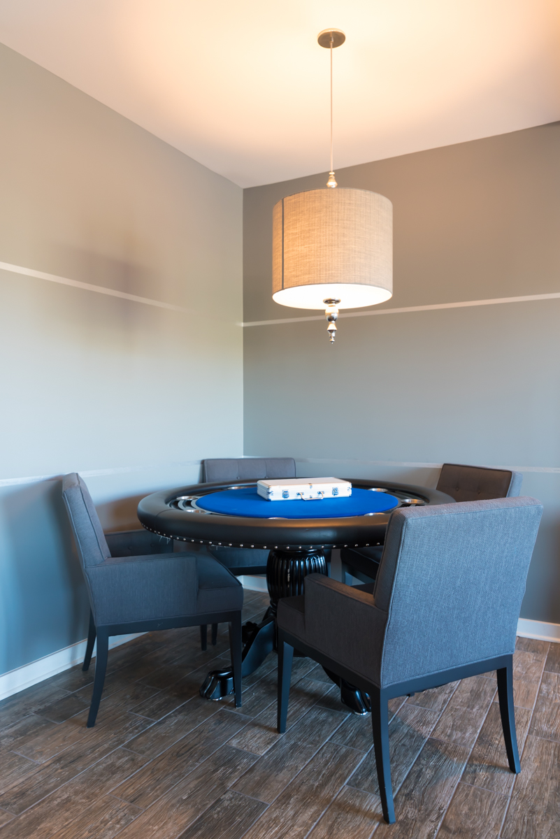 Pool and poker tables are available in the Clubhouse. / Image: Sherry Lachelle Photography // Published: 10.30.18