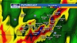 Approaching system could bring heavy rains, severe storms Monday