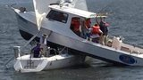 Two boats collide in Chesapeake Bay
