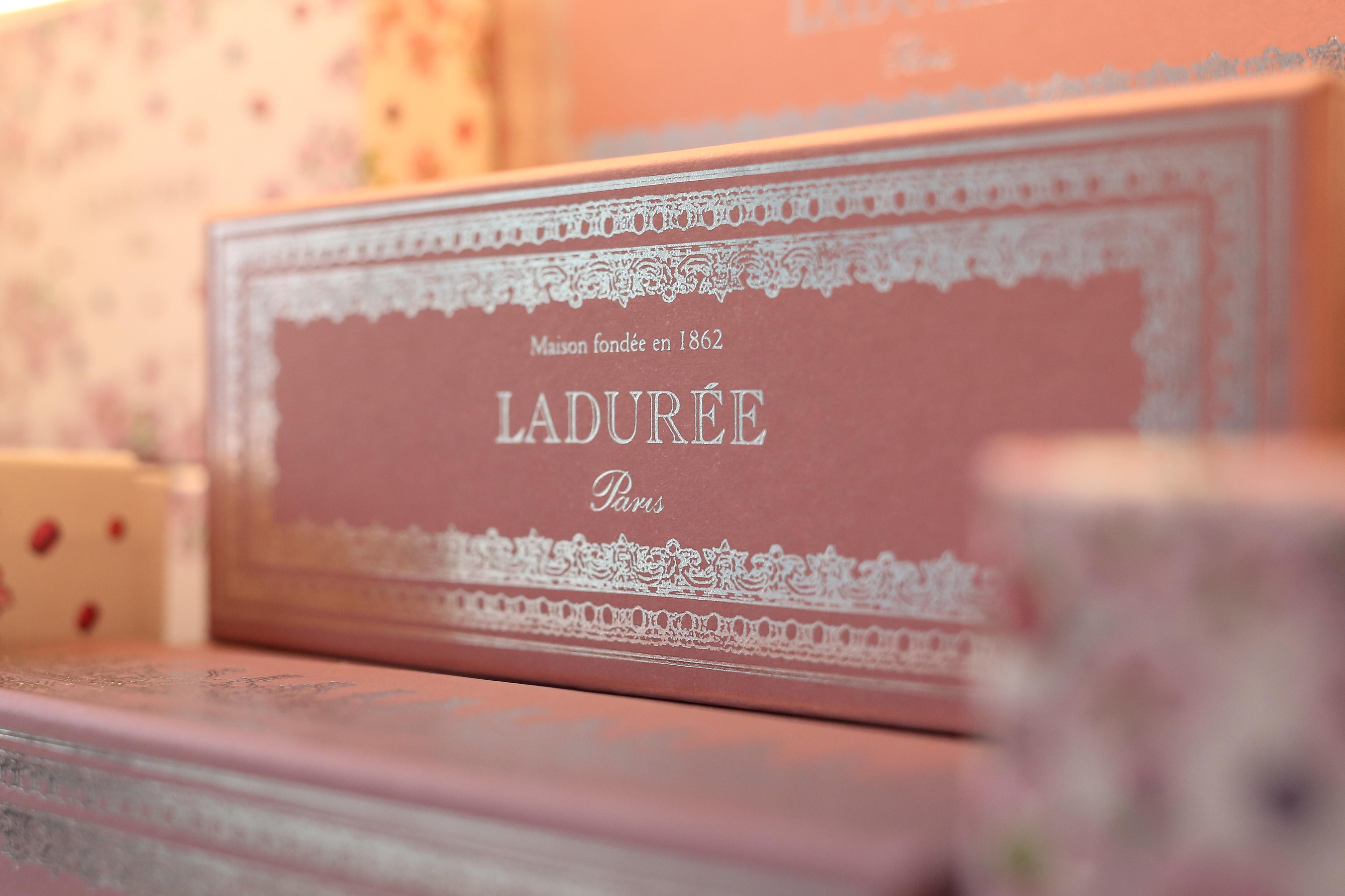Few things evoke Paris like a delicate box of perfectly baked macarons, but you don't have to buy a plane ticket to experience France with the arrival of Ladurée in Georgetown. The legendary Parisian institution opens next week, but the opening party was trés chic. (Amanda Andrade-Rhoades/DC Refined)