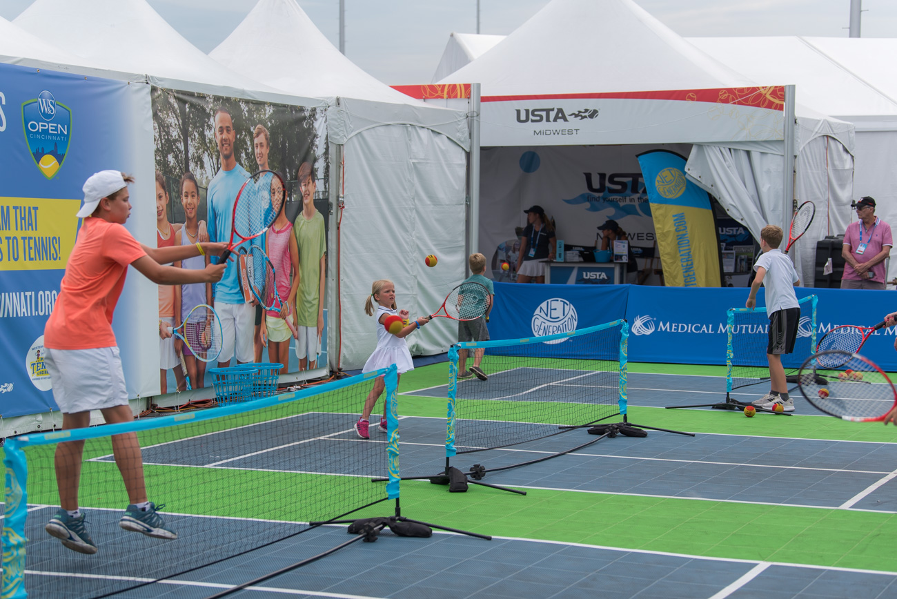 The 2019 Western & Southern Open (August 10-18) has tennis fans gathered at the Lindner Family Tennis Center in Mason this week. The W&S Open has been held in the area since 1899, making it the longest-running professional tennis tournament to be held in its original city. / Image: Mike Menke // Published: 8.14.19