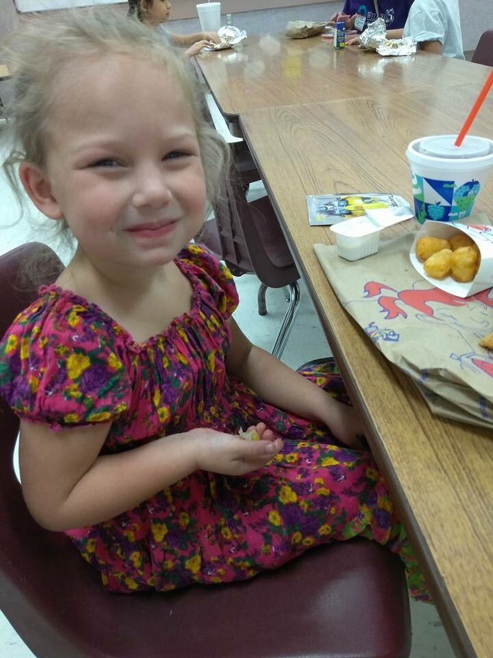 Brooke Ward, 5, died inside First Baptist Church. Her mom and sister were also killed. (Courtesy Photo)<p></p>