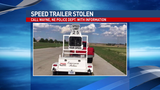 Wayne police search for suspect for stealing a speed trailer
