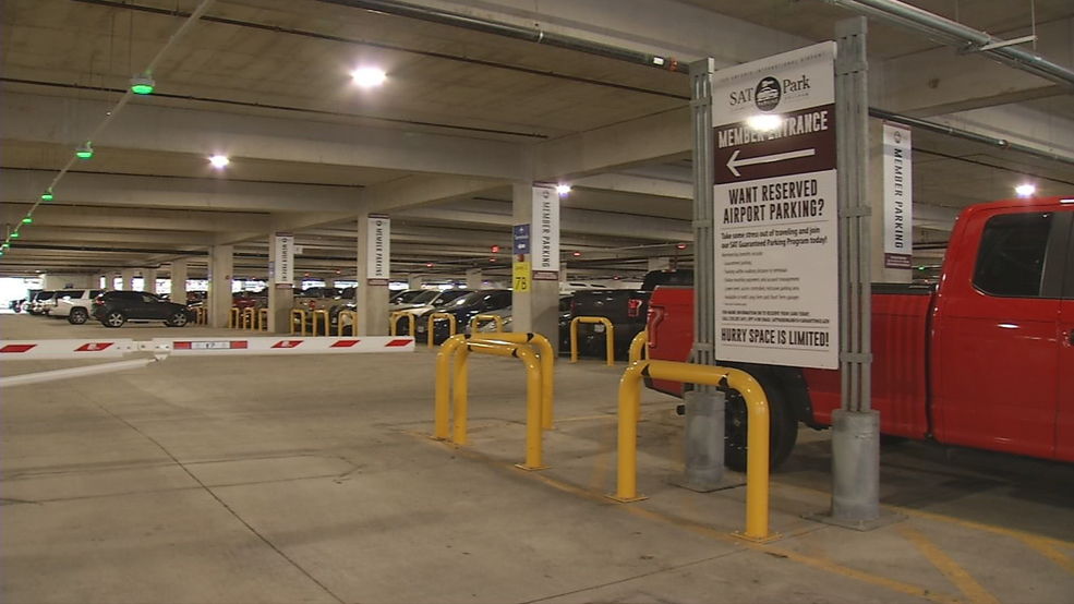 User Friendly Parking Garage Also Boosts Sa Airport S Bottom Line Woai