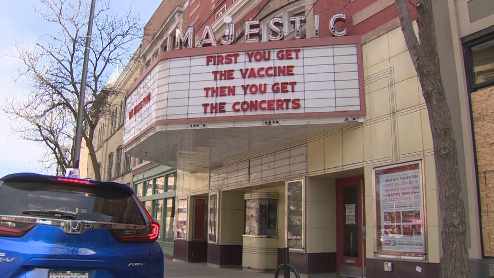 Majestic Theater to host pop-up vaccination clinic next week
