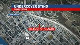 Charleston police hybrid unit arrests 10 in sting in Capitol Market, Smith Street area