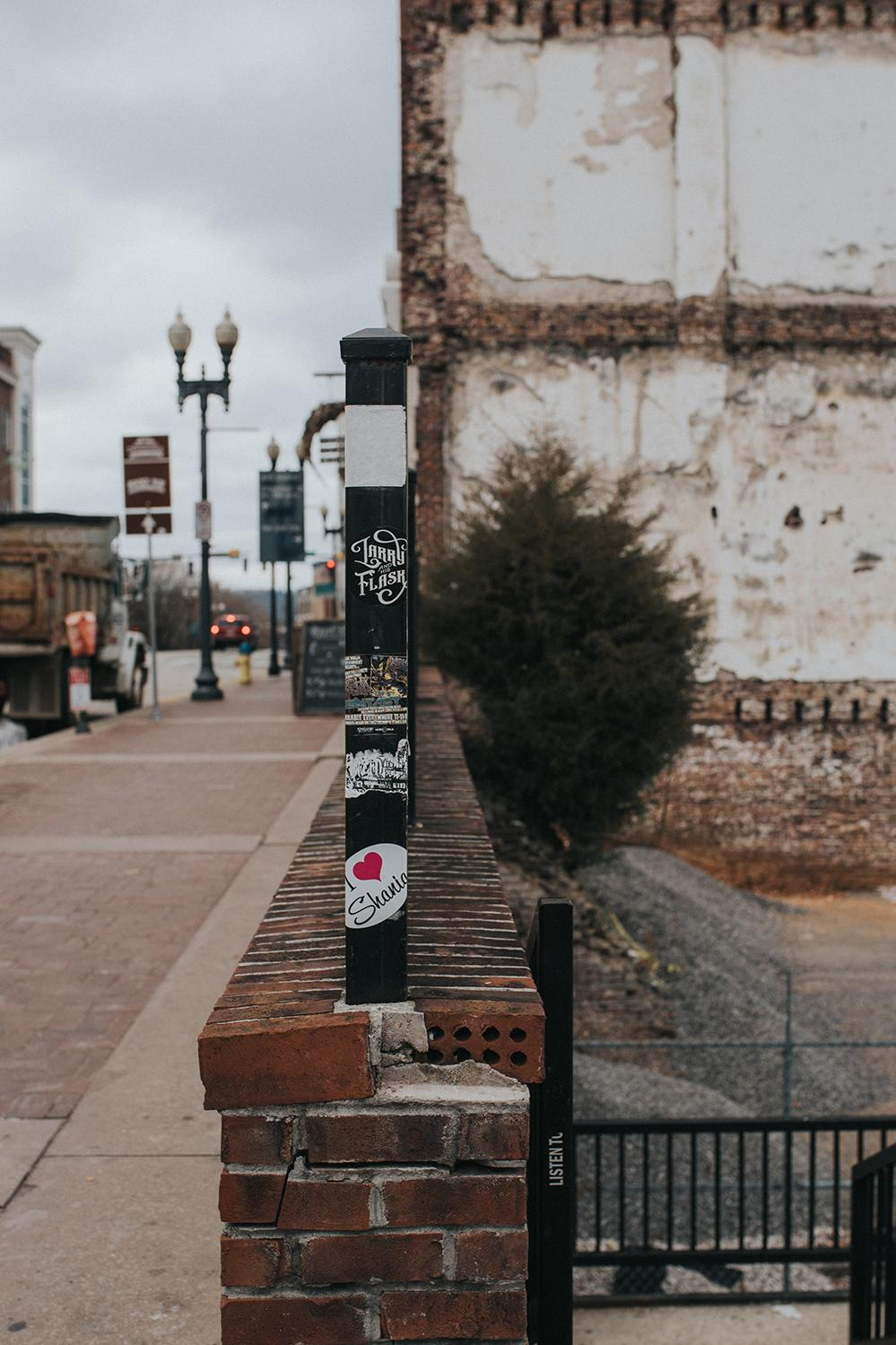 "PICTURED: Gay Street / ABOUT: Knoxville is nicknamed ""the Queen City of the Mountains."" At only a three and a half hour drive down I-75, take a day trip down and check out everything the city has to offer. Then, head southeast and enjoy the American wilderness that lies just beyond it. / Image: Brianna Long // Published: 2.5.17"