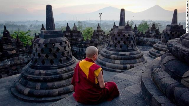 Watching the sun rise over the hundreds of stupas and Buddhas at Borobudur before the public descends in droves to disturb the peace is one of the world's most rarefied experiences.