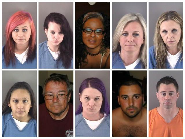 "<font size=""2"">Authorities in Wood County have arrested eleven people after a human trafficking sting at a Bowling Green hotel.</font>"