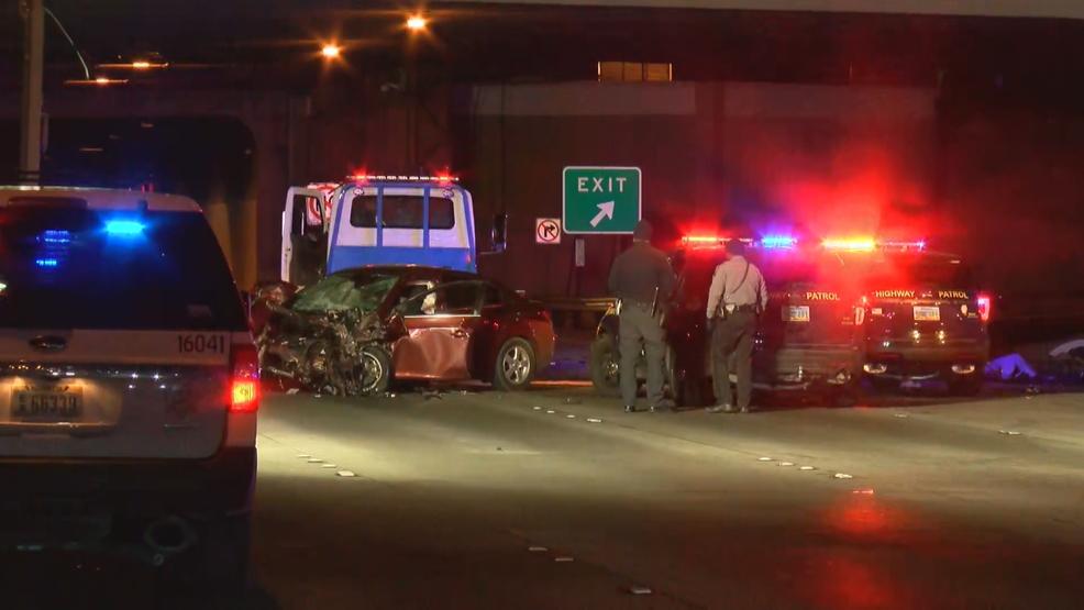 1 person killed in wrong-way crash near McCarran Airport