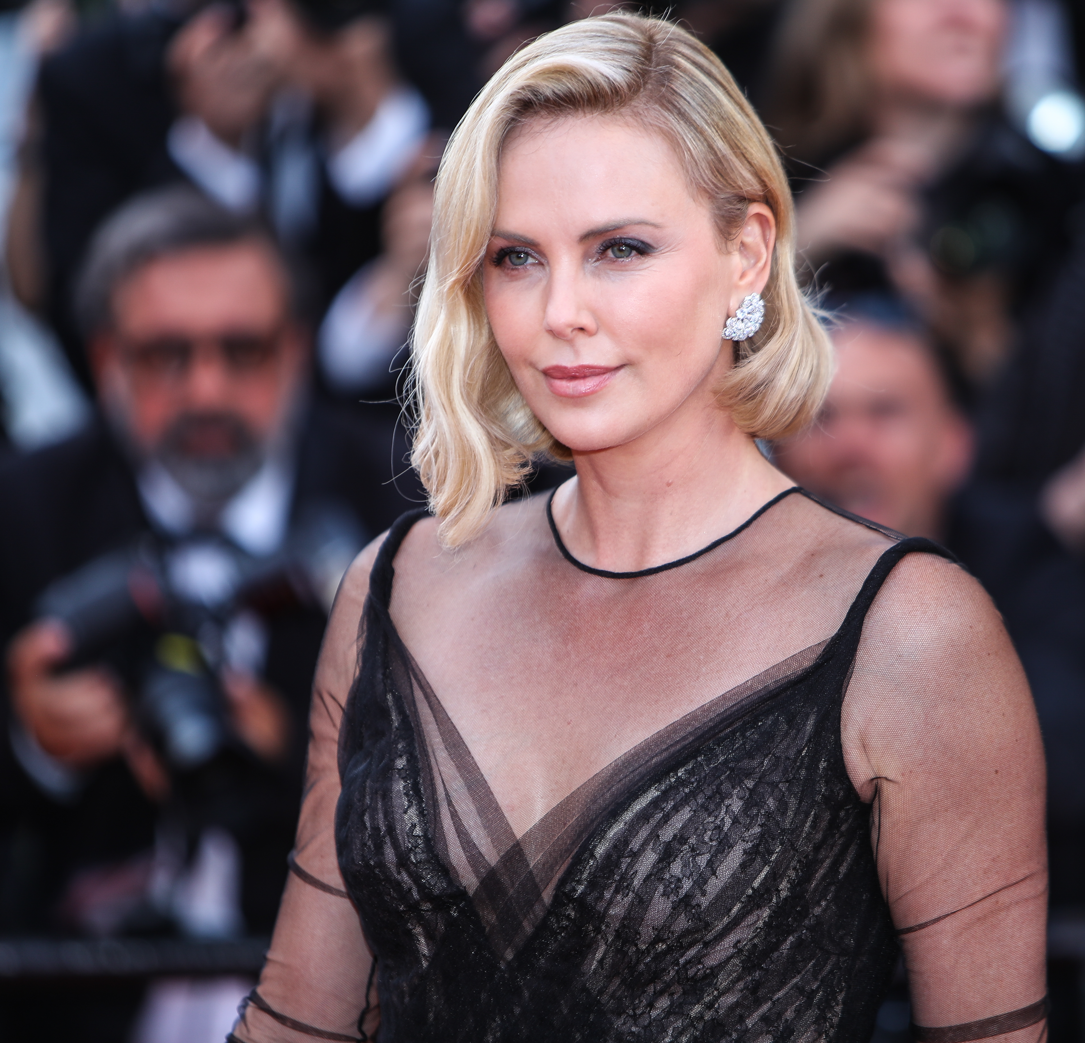 70th Annual Cannes Film Festival - 70th Anniversary Gala                                    Featuring: Charlize Theron                  Where: Cannes, United Kingdom                  When: 23 May 2017                  Credit: John Rainford/WENN.com