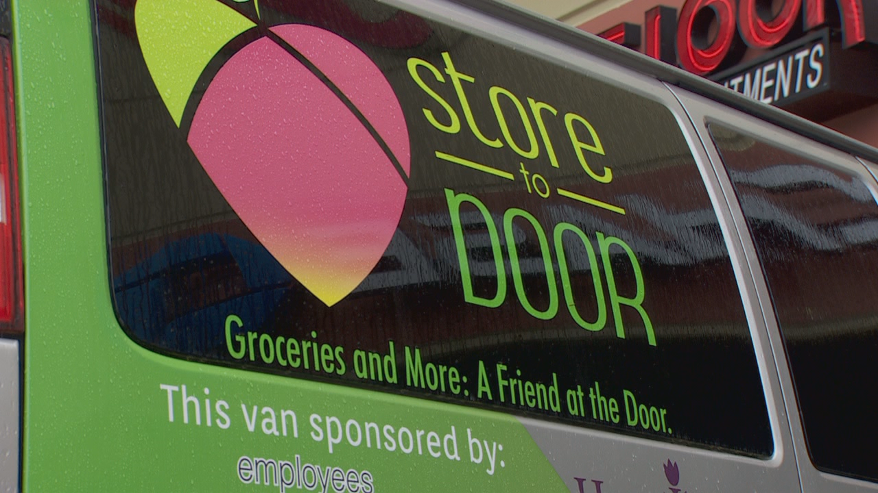 Store to Door connects with about 400 homebound people in Multnomah County every week.
