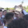 South Sioux soccer celebrates Class B title in homecoming ceremony