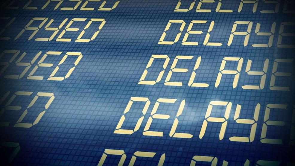 Up, up & away? Nope. Across North Carolina & the Upstate, flights are cancelled or delayed