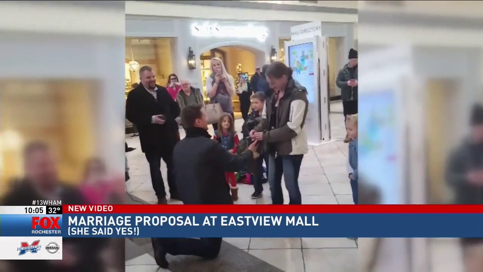 Man Proposes To Girlfriend In Eastview Mall Wham