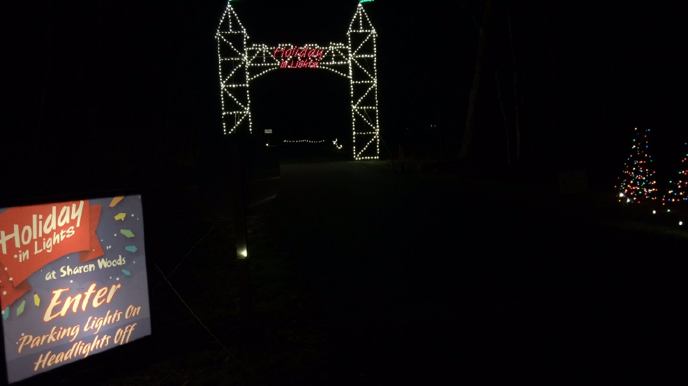 walk the lights at night in sharon woods