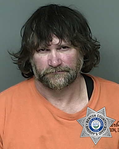 Jim Dandee Morris booking photo courtesy Benton County Jail