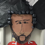 DC teacher creates huge Kaepernick display for Black History Month