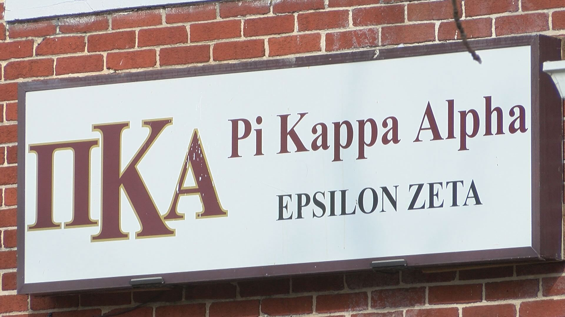 Pi Kappa Alpha's ETSU chapter was suspended from campus activities in 2016, due to parties it held while on probation. (WCYB)