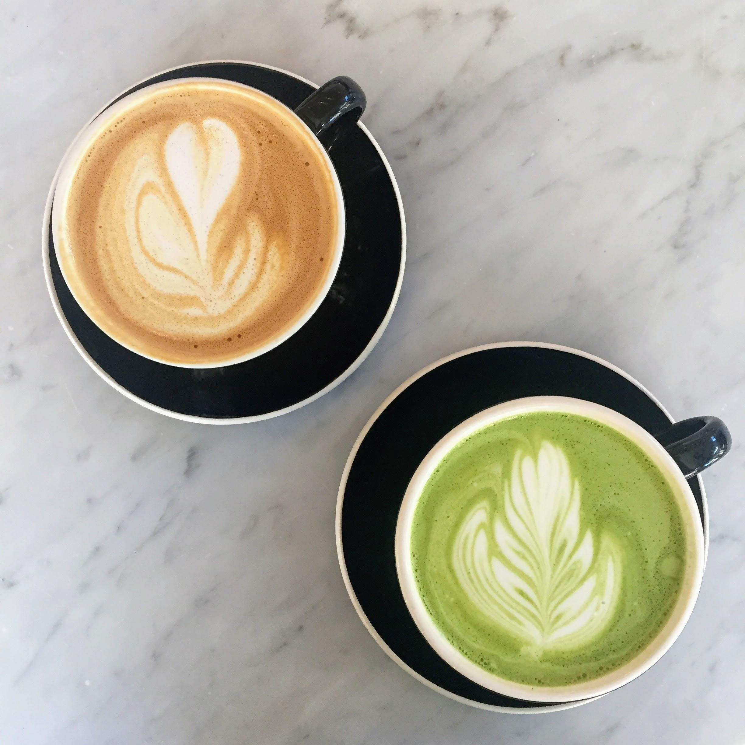 Low calorie days made me ask the question, how much coffee and matcha is too much? Is there a limit or can I sip this all day?{ }(Image: Amanda Shapin)