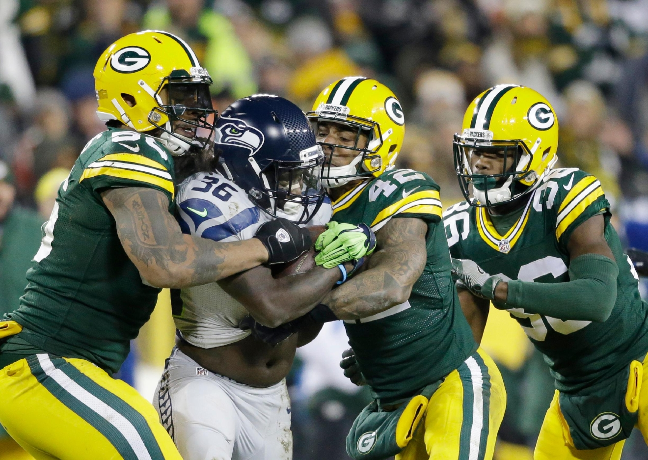 A great night for the Packers Hawks suffer brutal 38 10 loss