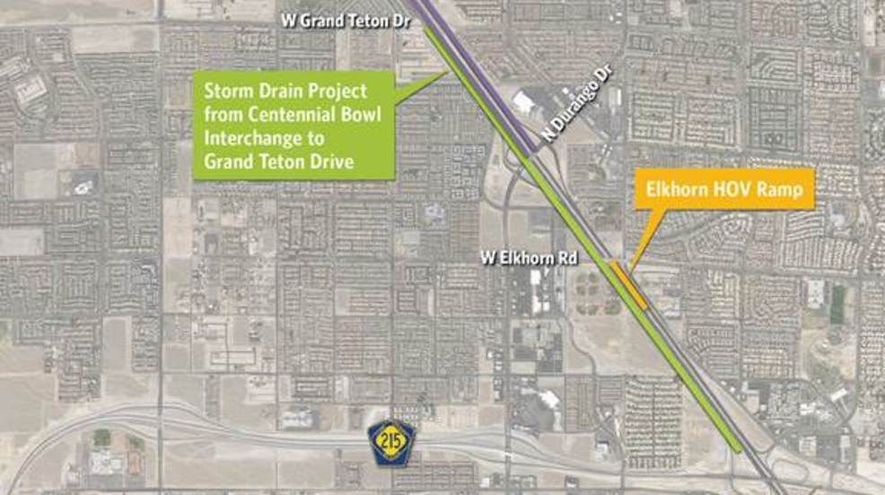 NDOT US 95 to drop to 2 lanes in each direction in northwest